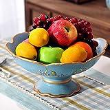 Highquality American Obstteller keramische kontinentalen Frucht Moderne Wohnzimmer Couchtisch Ornamente-A