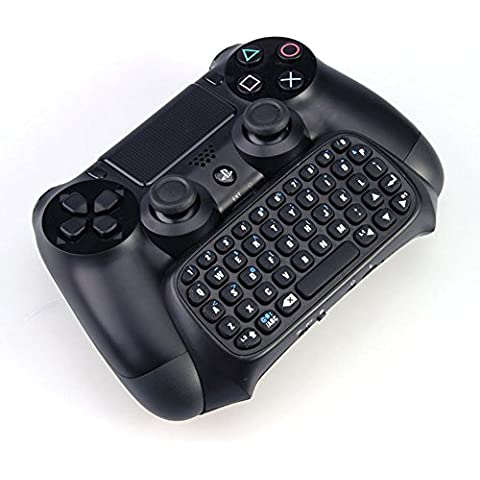 Pandaren Tastiera senza fili di Bluetooth per il controller PS4 (tastiera layout Inglese)