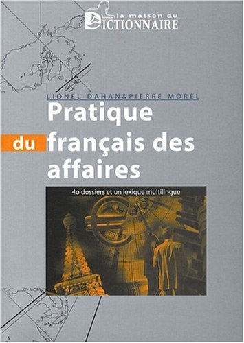 Pratique du Français des affaires