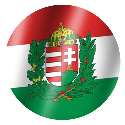 trends4cents XXL Flagge Ungarn mit Wappen 250 x 150 cm