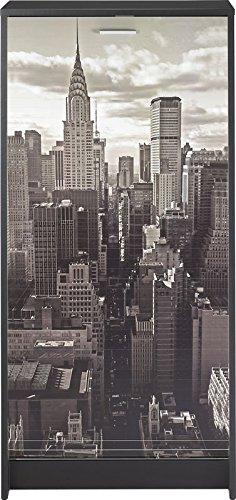 Meuble à chaussures - New-York / Buildings - Noir