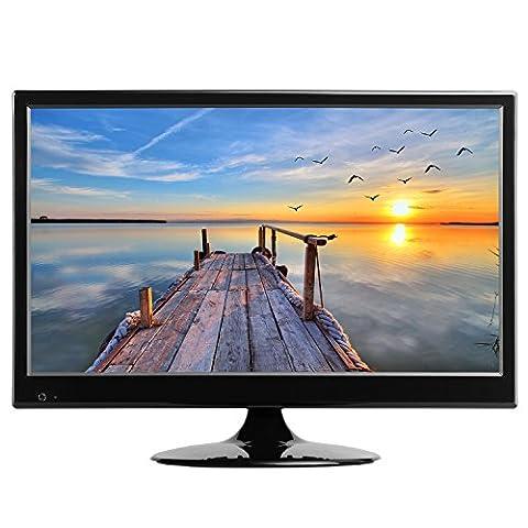 HKC TM16S-A2EU LED TV 39.6 cm (15.6 Zoll) Fernseher ( Triple Tuner DVB-T / T2 / C / S/ S2, H.265 HEVC, CI+, Mediaplayer USB2.0) 12V/230V [Energie Effizienzklasse A+ ]