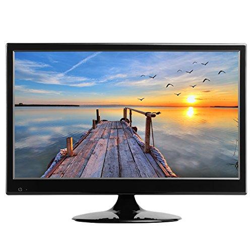 HKC TM16S-A2EU LED TV 39.6 cm (15.6 inch) TV (Triple Tuner DVB-T / T2 / C / S / S2, H.265 HEVC, CI +, Mediaplayer USB2.0) 12V / 230V [Energy efficiency class A +]