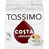TASSIMO Costa Americano 16 T DISCs (Pack of 5, Total 80 T DISCs/pods)
