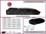 Proposteonline portabagagli Box Tetto Auto 152 x 77 x 38 cm per Lancia Delta...