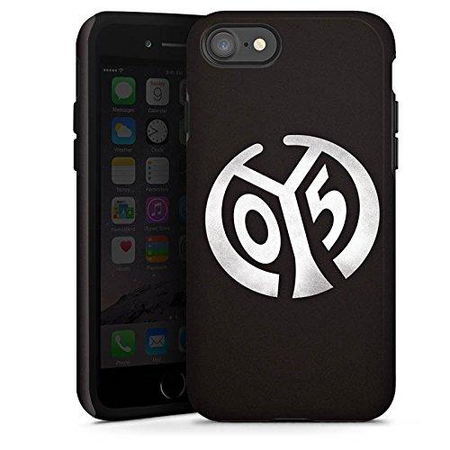 Apple iPhone 7 Hülle Case Handyhülle 1. FSV Mainz 05 e.V. Fanartikel Bundesliga Fußball Tough Case glänzend