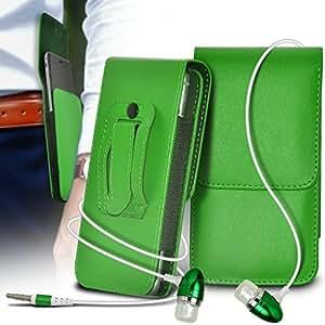(Nero) Sony Xperia M2 Scheda elegante Faux di Credito / Debito Leather Style libro cassa del raccoglitore della copertura della pelle, Touch Screen a scomparsa Pen & Screen Protector Con * Aventus *