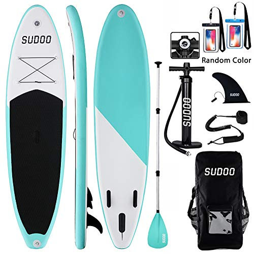 Stand Up Paddle Gonflable 9'-300x83x15cm (Ép) | Planche de...
