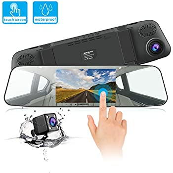 Dash Cam Jeemak 1080p Ips Touch Screen Car Dashboard