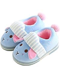 Paragon 1-7 Años de edad Bebe Niño Zapatillas casa Niñas Invierno Pantuflas Suave Encantador Dibujos animados Slippers