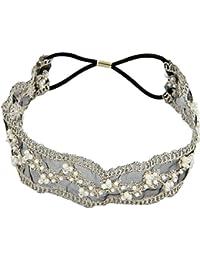 Bandeau Bande De Cheveux De La Tête Perles Dentelle Style Mode