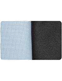 23456d8db Arvind Men s Un-Stitched Cotton Shirt 1.60 Mtr and Poly Viscose Trouser  1.30 Mtr Fabric