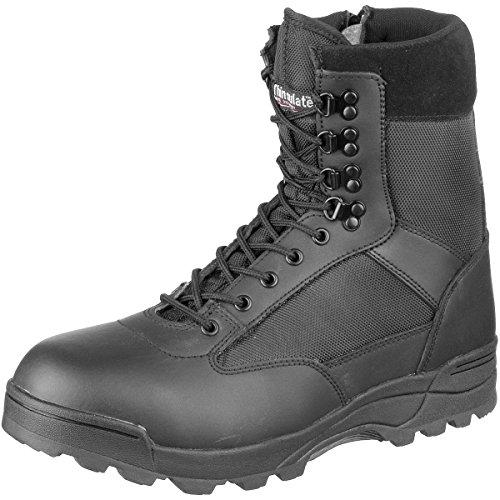 BRANDIT Scarponi Stivali Anfibi uomo unisex Trekking Tactical Zipper Boots 43