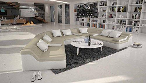 SalesFever Designer Wohnlandschaft im XXL Format halbrund 410×272 cm Catoca