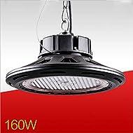Xh&Yh 160W LED Lustre industriel haute baie éclairage UFO 20000lm 2700K / 5000K Super Bright Éclairage commercial , 5000k