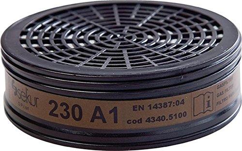 Gasfilter 230 A1 für Art.Nr.4000370780, 2 Stk.