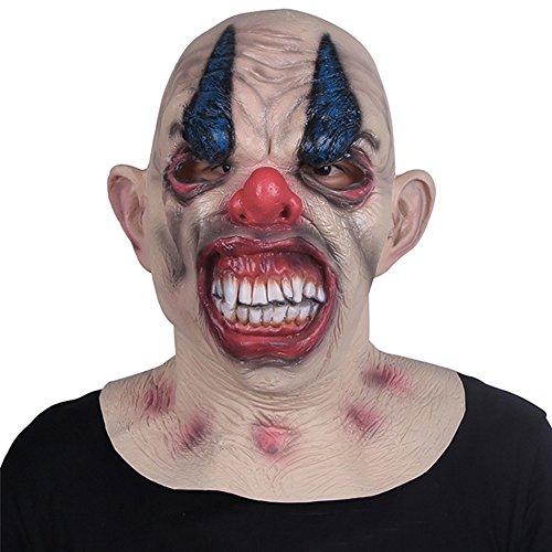 Yxsd Horror Mask Adult Männlich Volles Gesicht Scary Latex Kopf Set Halloween Tokyo Ghul Maske Geist Gesicht Teufel