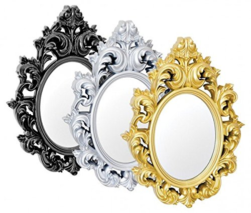 Catherine-adornos-plateado-espejo-de-pared-alto-brillo