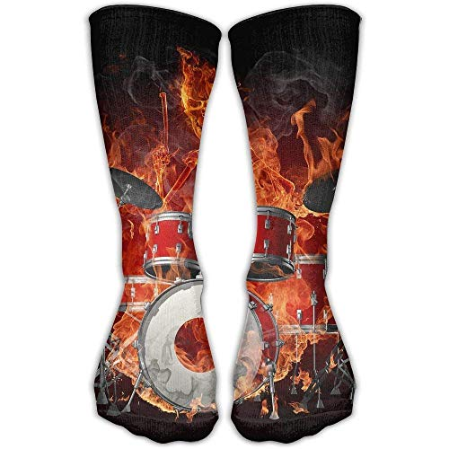 Socken Skull Drum Women & Men Socken Soccer Sock 60cm Tube Stockings Length (Wigwam-tube-socken)