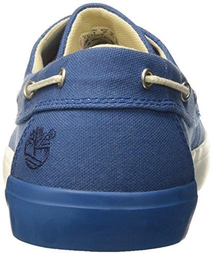 Bay Newport Timberland 2 Olho Herren Bootsschuhe Azul Barco Oxmykonos Blau Lona Canvas mykonos wqq4ETWU