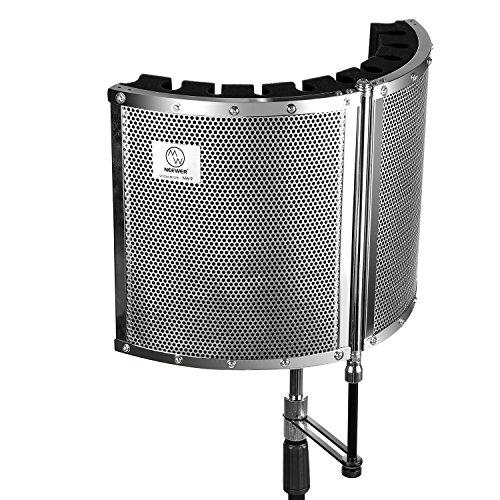 neewerr-plegable-microfono-acustico-aislamiento-escudo-con-peso-ligero-de-aleacion-metal-espumas-acu