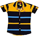 POGO Boys' Cotton Shirt (POGO14 _ 8-9 Ye...