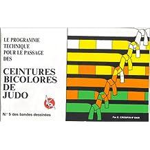 Ceintures bicolores judo bd n5