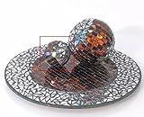 Kugel Dekokugel *Ambra* Mosaik Glas - D7cm