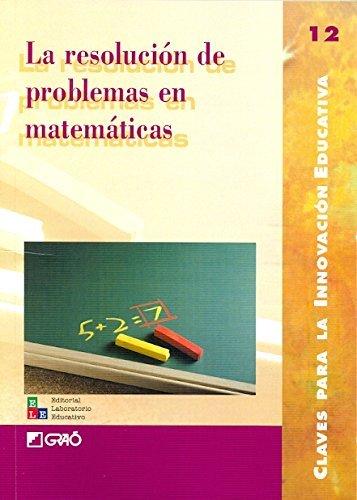 La resoluci?3n de problemas en matem??ticas by Paulo Abrantes Carme Barba Llu?-s Segarra Teresa Serra Isabel Batlle M (2008-10-24)