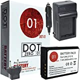 DOT-01 Brand Canon EOS 4000D Battery And Charger For Canon EOS 4000D DSLR And Canon 4000D Battery And Charger Bundle For Canon LPE10 LP-E10