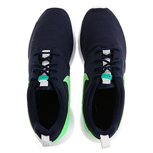 Nike Rosherun, Chaussures de Running Mixte Enfant Bleu Marine