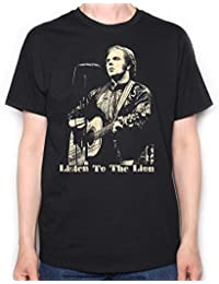 Old Skool Hooligans Tribute To Van Morrison T Shirt - On Stage Picture Listen To The Lion