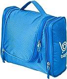 Bago Kulturbeutel / Dusch-Tasche für Reisen, Pflegeprodukte, Makeup und mehr (Blau)