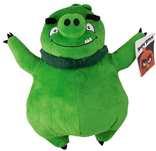 "Angry Birds - Green Pig Leonard Plush - Movie - 30cm 12"""