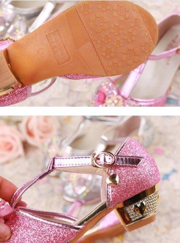OPSUN Ballerines à bride Enfants Filles 2017 Nouvelle Mode Chaussure Cérémonie Fête Demoiselle d'honneur Mariage Escarpin plat Babies Blanc