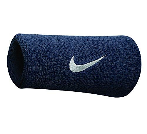 Nike Swoosh Doublewide Wristbands (One Pair)