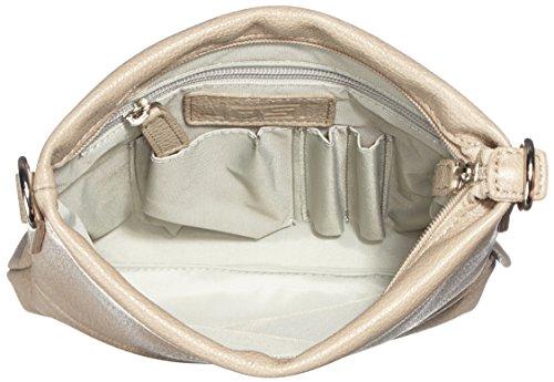 Leonard A. DeFusco - Vika Shoulder Bag Xs, Borsa a tracolla da donna Beige (Dove)