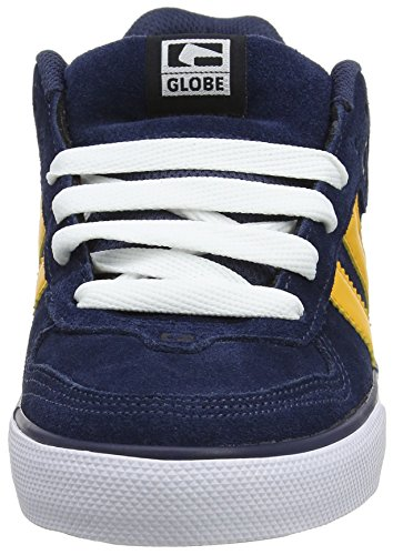 Globe - Encore-2, Pantofole Uomo Multicolore (Navy/yellow)