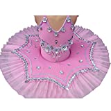 Jolie robe de danse robe de ballet pour enfants Tutu princesse robe de costume Vêtements de danse, B