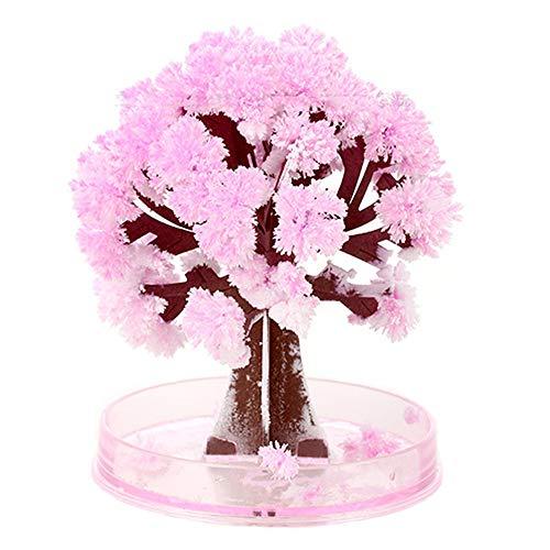 Subfamily PapierbaumblüTe Handgemachte Magischer BlüHender Baum Kreative Design Hauptdekoration DIY Geschenks Toy Kindertages Jugend Jungen Mädchen Teenager Kinder (Baby Verbot) (Bunt)