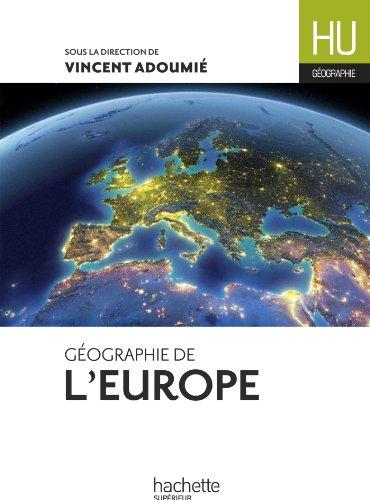 Géographie de l'Europe (HU Géographie)