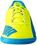 Puma evoSPEED 5.4 IT Jr, Unisex-Kinder Hallenschuhe, Gelb (safety yellow-atomic blue-white 04), 35 EU (2.5 Kinder UK) -