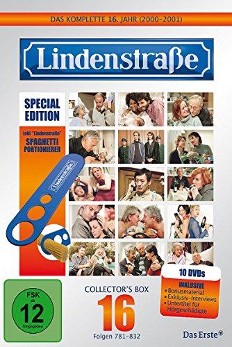 Lindenstraße - Das komplette 16. Jahr (Ltd. Edition mit Spaghetti-Portionierer, 10 DVDs)