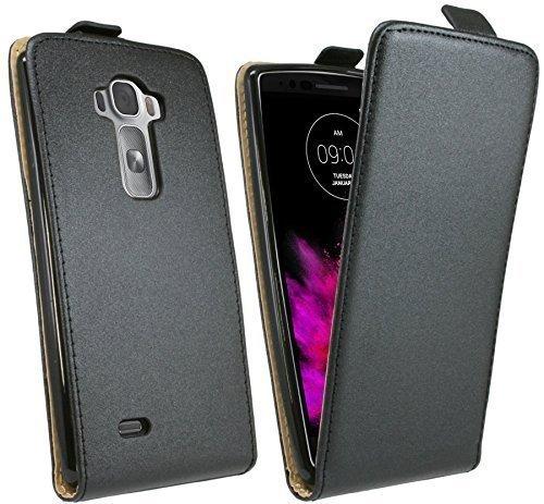 Klapptasche Schutztasche für das LG G FLEX 2 in Schwarz Tasche Hülle @ Energmix