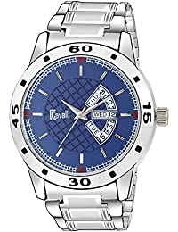Cavalli Exclusive Series Blue Dial Stainless Steel Day & Date Analogue Boys And Mens Watch-Crcw511