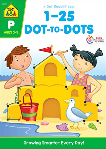 1-25 Dot-To-Dot: Preschool