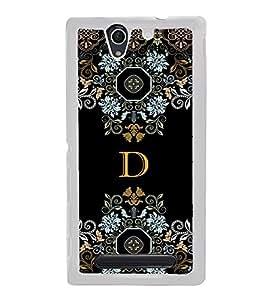 PrintVisa Designer Back Case Cover for Sony Xperia C4 Dual :: Sony Xperia C4 Dual E5333 E5343 E5363 (bunch flowers herbs wild mouse)