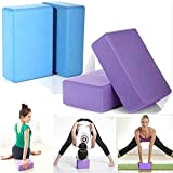 #9: Yoga Brick By House of Quirk Set of 2 EVA Foam Block to Support and Deepen Poses, Improve Strength and Aid Balance and Flexibility