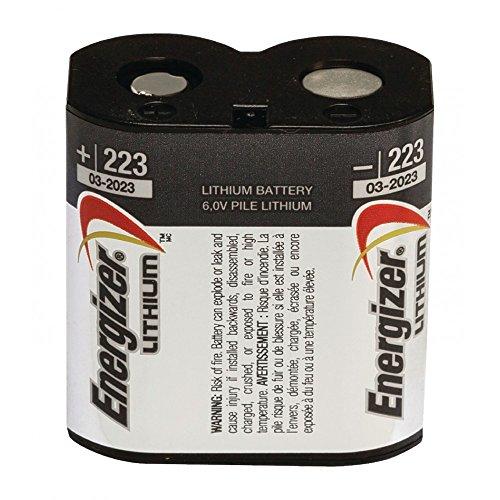 Energizer Batterie Lithium 223 cr-p2 6 V