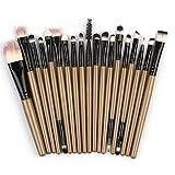 Beauty-Werkzeuge,Daysing Schminkpinsel Kosmetikpinsel Pinselset Rougepinsel Augenbrauenpinsel Puderpinsel Lidschattenpinsel 20 Stück Make-up Pinsel-Sets